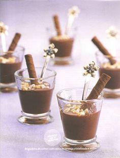 """Chocolate """"Brigadeiros"""" Revisitée Shots"""