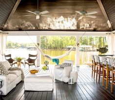 This Lakeside Home Is a Summertime Dream via @mydomaine