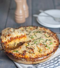 Spaghetti Squash Pie - Natural Comfort Kitchen