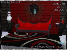 SrslySims | Technophobe No More Sofa