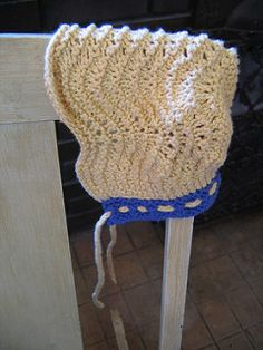 Free pattern adjustable for your yarn and sizes.