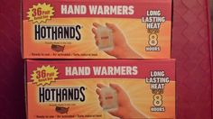 HotHands Hand Warmers, 2 Boxes 72 Pairs (144 Warmers) Exp: 07/2018