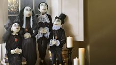 Set of Four Vampire Family Figures
