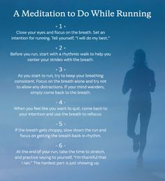 running long distances has really gotten to my head - this might actually help.