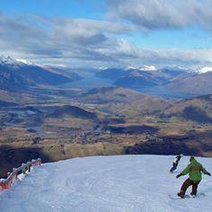 Want to do this again! #ski #queenstown #coronetpeak