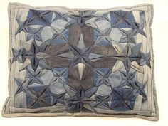 Gorgeous Recycled Denim Pillow