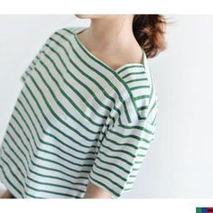 Buy 'FROMBEGINNING – Square-Neck Stripe T-Shirt ' with Free International Shipping at YesStyle.com. Browse and shop for thousands of Asian fashion items from South Korea and more!