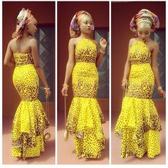 Beautiful Ankara Long Gown Design for Ladies http://www.dezangozone.com/2016/05/beautiful-ankara-long-gown-design-for.html