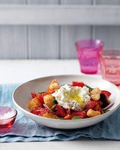 Tomato Panzanella with Ricotta - Martha Stewart Recipes