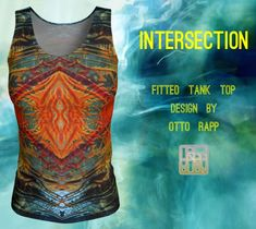 Workout Tank Tops, Bag Accessories, Tank Man, Clothes For Women, Fitness, Artist, Fabric, Mens Tops, Fashion Design