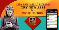 Explore New Apps and Earn #FreeRecharge!! #ReferAppMoney #AppMoneyOffers Download & Install Here: http://bit.ly/1C8FPEc