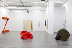 Installation view of 'Franz Erhard Walther: The Body Decides' at WIELS, Brussels. Courtesy WIELS & The Franz Erhard Walther Foundation. Photo © 2014 Sven Laurent - Let me shoot for you. Henry Art Gallery, Bean Bag Chair, Kids Rugs, Brussels, Furniture, Foundation, Exhibit, Home Decor, Alphabet
