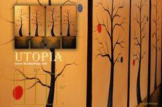 UTOPIA - Studio Mojo Artwork Exclusive Original Cavnas Painting