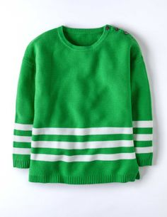 It's not easy being green (but it certainly is chic!) #Boden Polperro Jumper