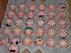 Eier gezichten
