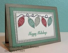 Booth #32: christmas CTMH Trim the Tree stamp set