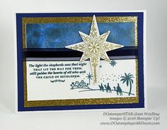Creating With Joan; Stampin' Up! Star of Light bundle