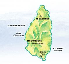 St Lucia travel information on accommodations, services, itineraries and activities