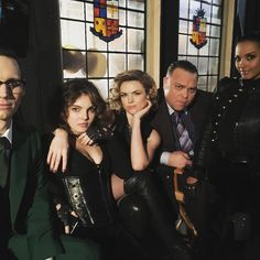 "(@erinrrichards) on Instagram: ""Strike a pose. @gothamonfox familam. Love me some badass villains. #gotham #villains"""