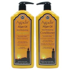 Agadir Argan Oil Daily Moisturizing Shampoo and Conditioner Liter Combo Set 33.8 oz ** Click image for more details.