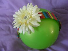 fun flower headband