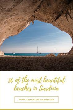 SARDYNIA - 50 najpiękniejszych plaż na wyspie. Przewodnik Most Beautiful Beaches, Mario, Movie Posters, Track, Italia, Runway, Film Poster, Truck, Running