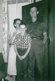 Bob & Merle Ketchum and family about 1957/1958
