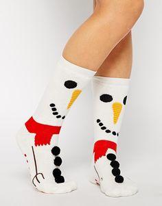 Calcetines muñecos de nieve - Silly Socks