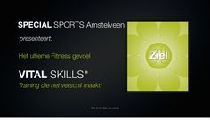 Vital skills - Special Sports business concept by Ron Nansink via slideshare