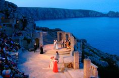 The Minack Theatre in Penzance, Cornwall