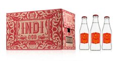 Indi & co tonic water package design (from the dieline)