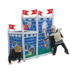 Inflatable Indoor/Outdoor Castle Playhouse for a little knight in shining armor from @One Step Ahead. - $59.95