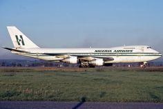 Nigeria Airways #boeing 747-200, Rome, #Skypower #NigeriaAirways