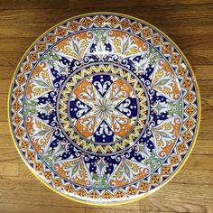 Geometrico Ornato Large Decorative Platter 1