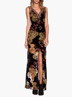 bcbe7821500 Buy Stunning long maxi summer dress black floral beautiful women fashion  style.  floraldress
