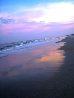 outer banks, north carolina sunset