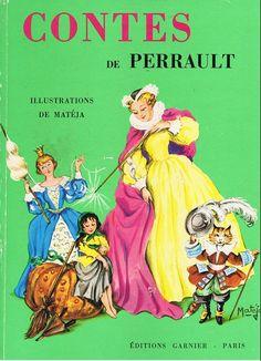 Couverture de Contes de Perrault (Matéja) - Cendrillon et autres contes