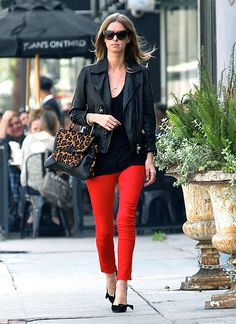 i bought some red cropped pants from the gap today - can't wait to try them out!
