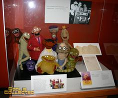 """Original Muppets from """"Sam and Friends"""""""