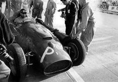 1956 GP de Monaco - Juan Manuel Fangio, Lancia-Ferrari D50