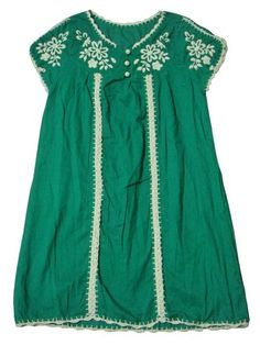 Mexican embroidered hippie boho mini dress. Only $15.99!
