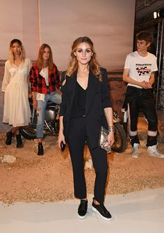 Olivia Palermo attends the Belstaff and Liv Tyler launch of Spring Summer 17 during London Fashion Week at Victoria House on September 18, 2016 in London, England. September 18, 2016 License