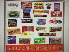 Trusted brands of candy. Tootsie is pn/tn free & Wonka is a trusted labeler!