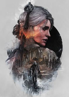The Witcher 3 / Steelbooks by StudioKxx Krzysztof Domaradzki Poznan, Poland Series of artworks created for Limited Edition Steelbook covers for the next generation genre-defining video game The Wit…