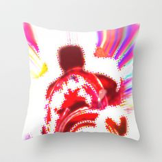 Abstract Throw Pillow by Korok Studios - $20.00