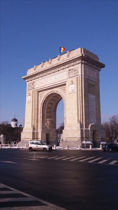 Arc de Triomph in Bucharest Romania Bucharest Romania, George Washington Bridge, Places Ive Been, Country, World, City, Pictures, Travel, Photos