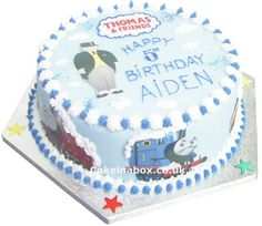 Thomas the Tank Engine and Friends Cake