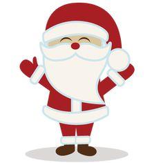 Santa - santa50cents110813 - 50¢ Store - Miss Kate Cuttables | Product Categories Scrapbooking SVG Files, Digital Scrapbooking, Cute Clipart...