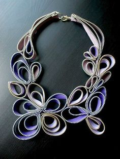 The Love of Violet Zipper Necklace