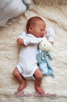 BB Realborn® Thomas Asleep - by Silvia Ezquerra
